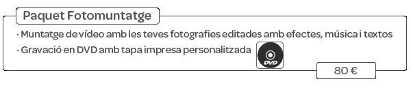 Pack fotomuntatge
